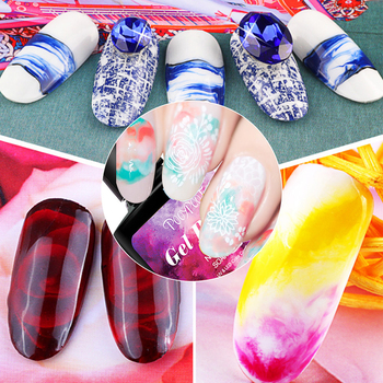 Blossom Painting Gel Nail Polish Magic Blooming Effect Gel Lacquer Soak-Off UV Nail Gel Varnish Nail Art Design DIY Decoration
