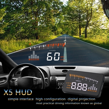 3 inç ekran Araba hud head up display Dijital araba kilometre için honda hrv vezel xrv h-c-rv rv crv fit caz accord city civic