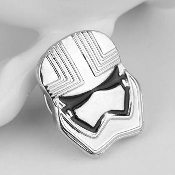 Star Wars Pin Stormtrooper Broş Pin Darth Vader Yıldız Savaşları Rebel Alliance Millennium Falcon Broş rozeti yaka pin erkek