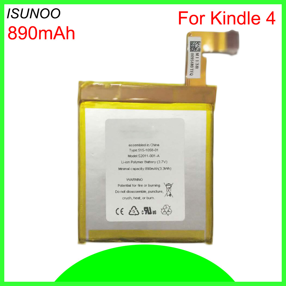 Amazon Kindle 4 5 6 D01100 ISUNOO Cep Pil 515-1058-01 MC-265360 S2011-001-S